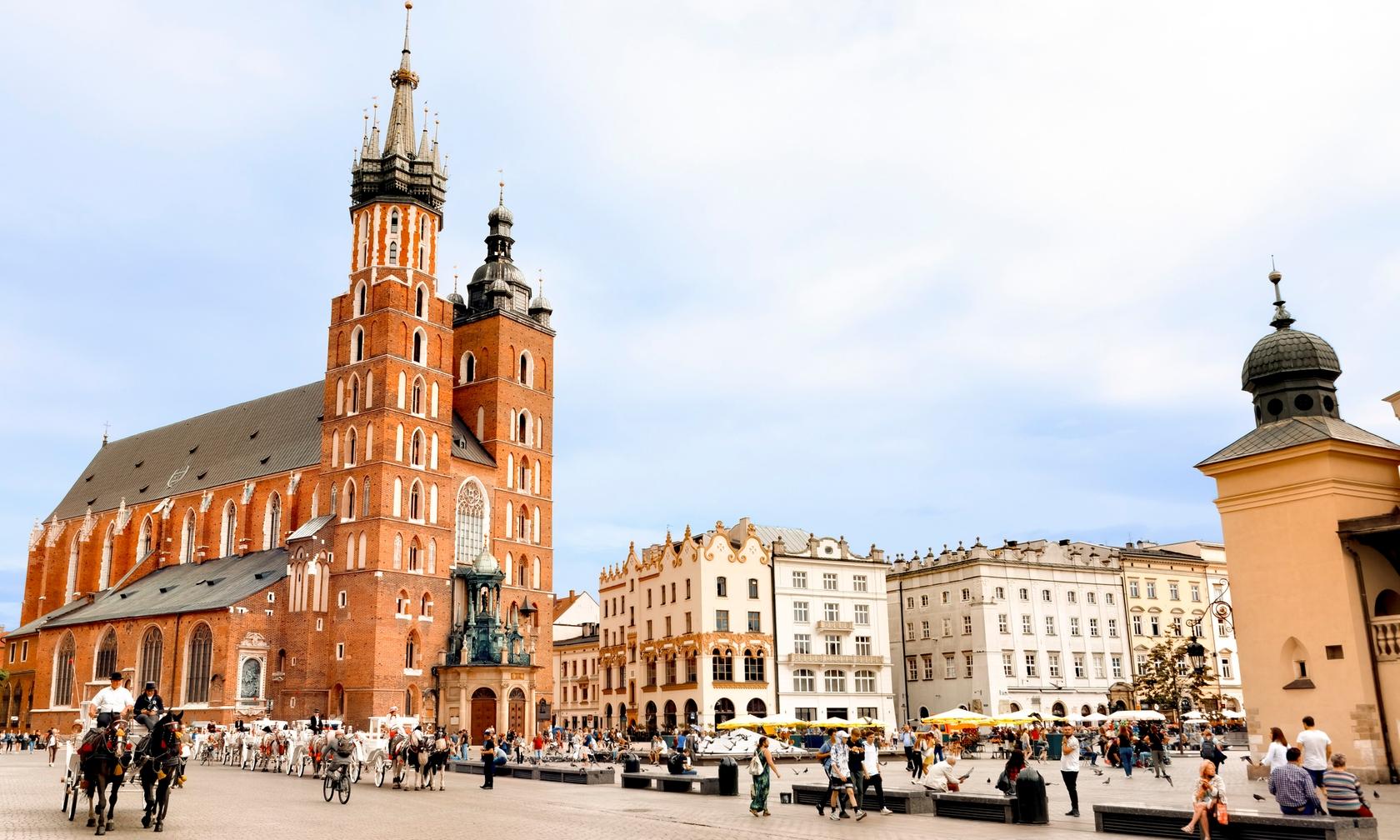 Holiday rental apartments in Kraków