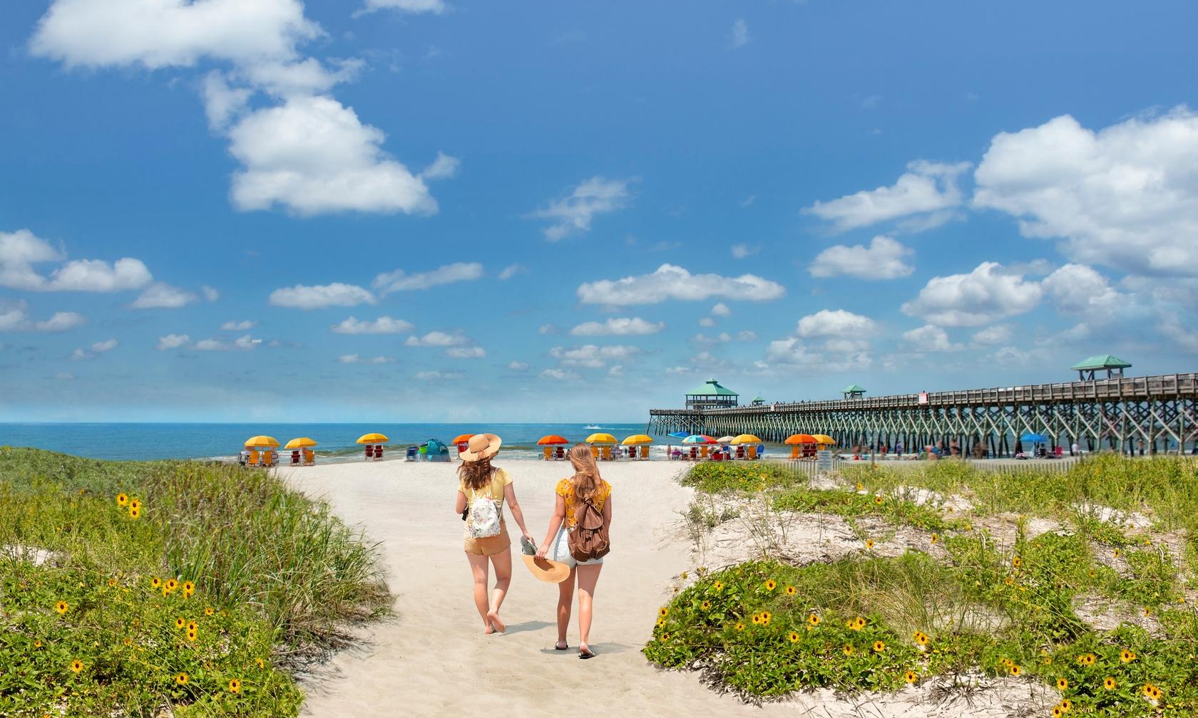 Vacation rental beach houses in Folly Beach