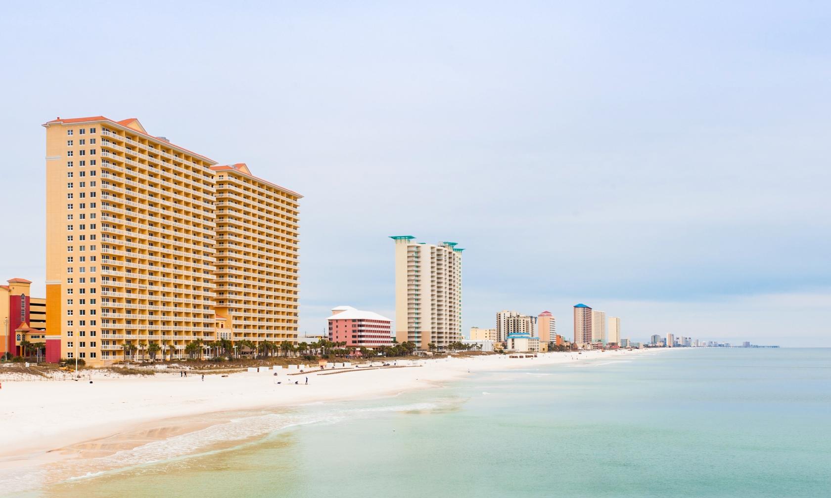 Vacation rental beach condos in Panama City Beach
