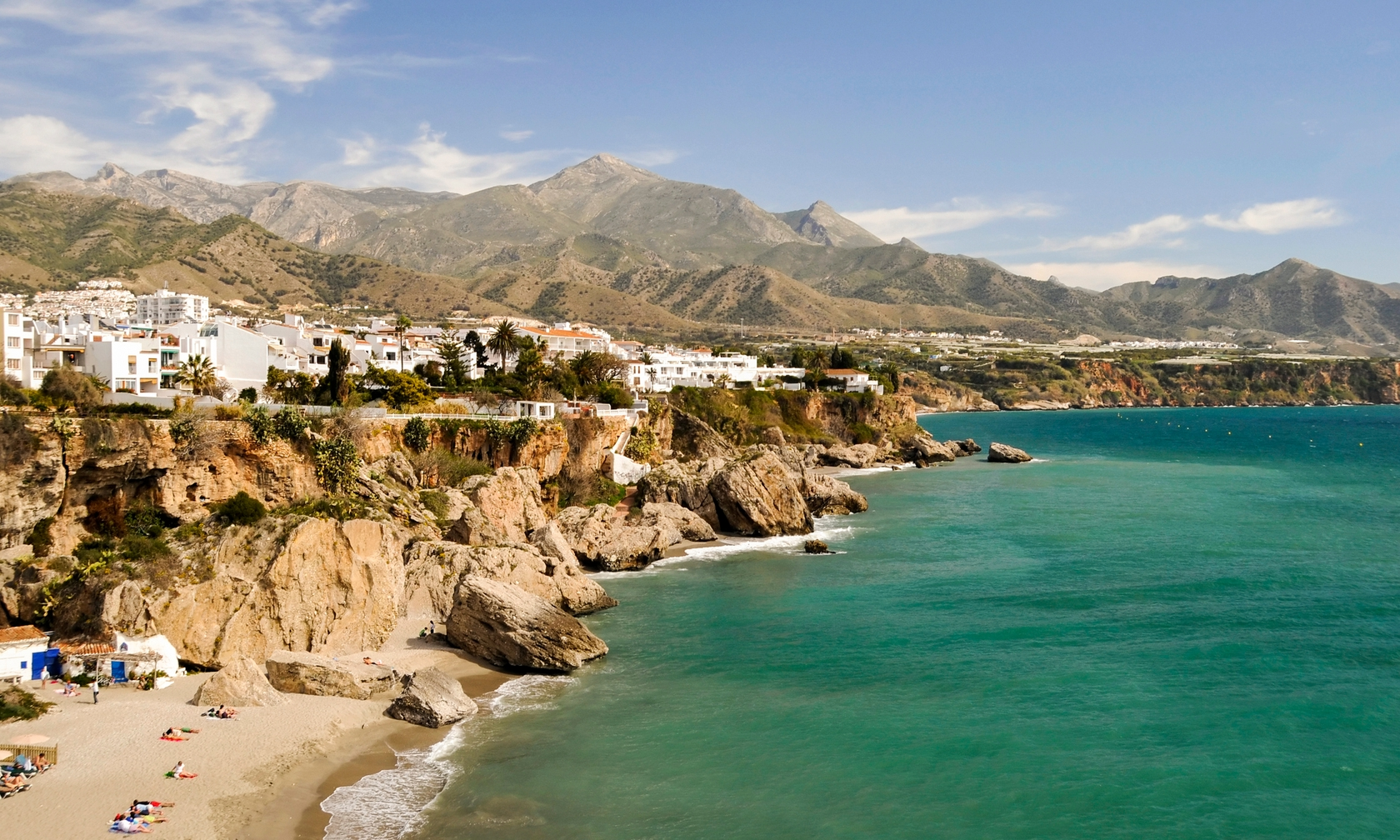 Villa and house rentals in Nerja