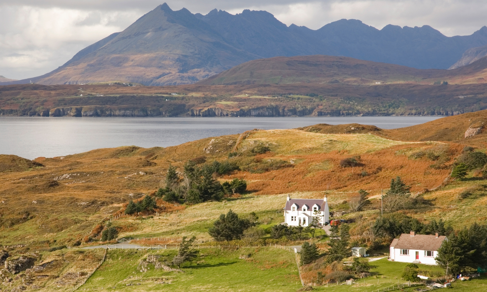 Holiday cottages in Skye