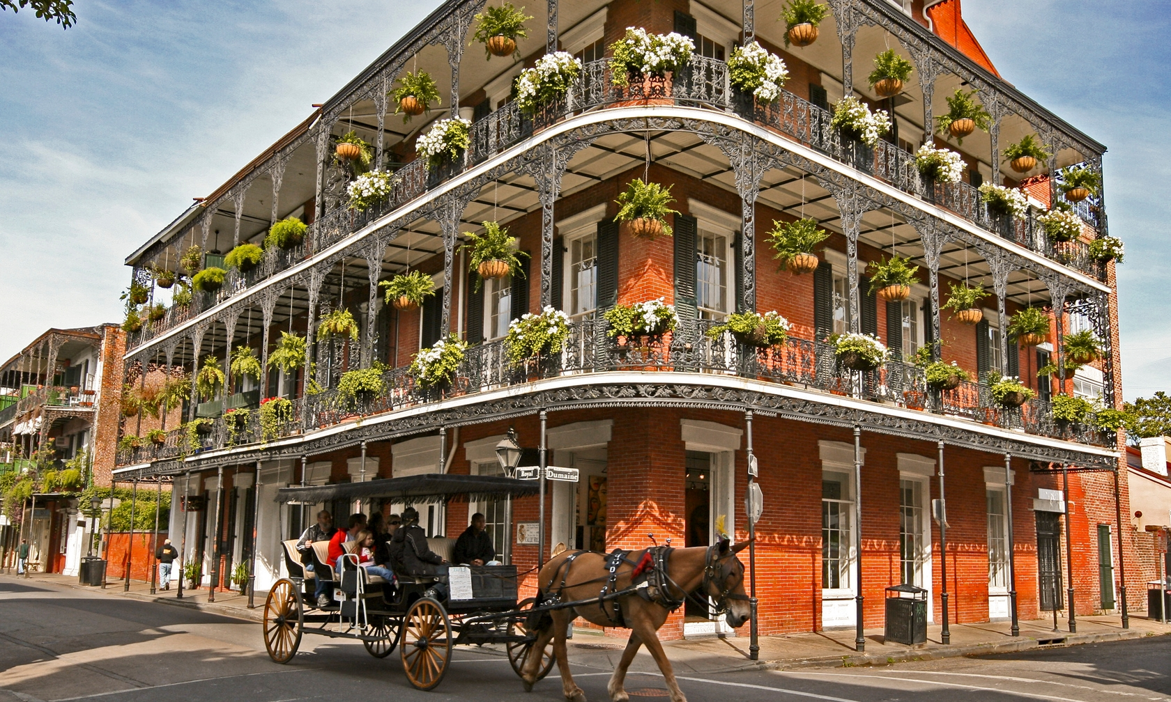 Vacation rental houses in New Orleans