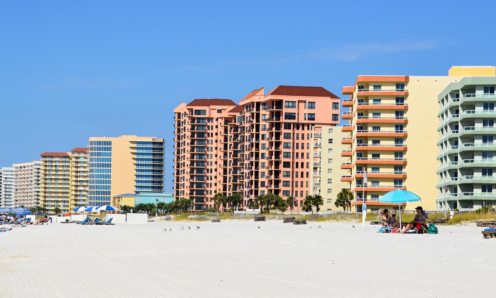 Vacation rental condos in Gulf Shores