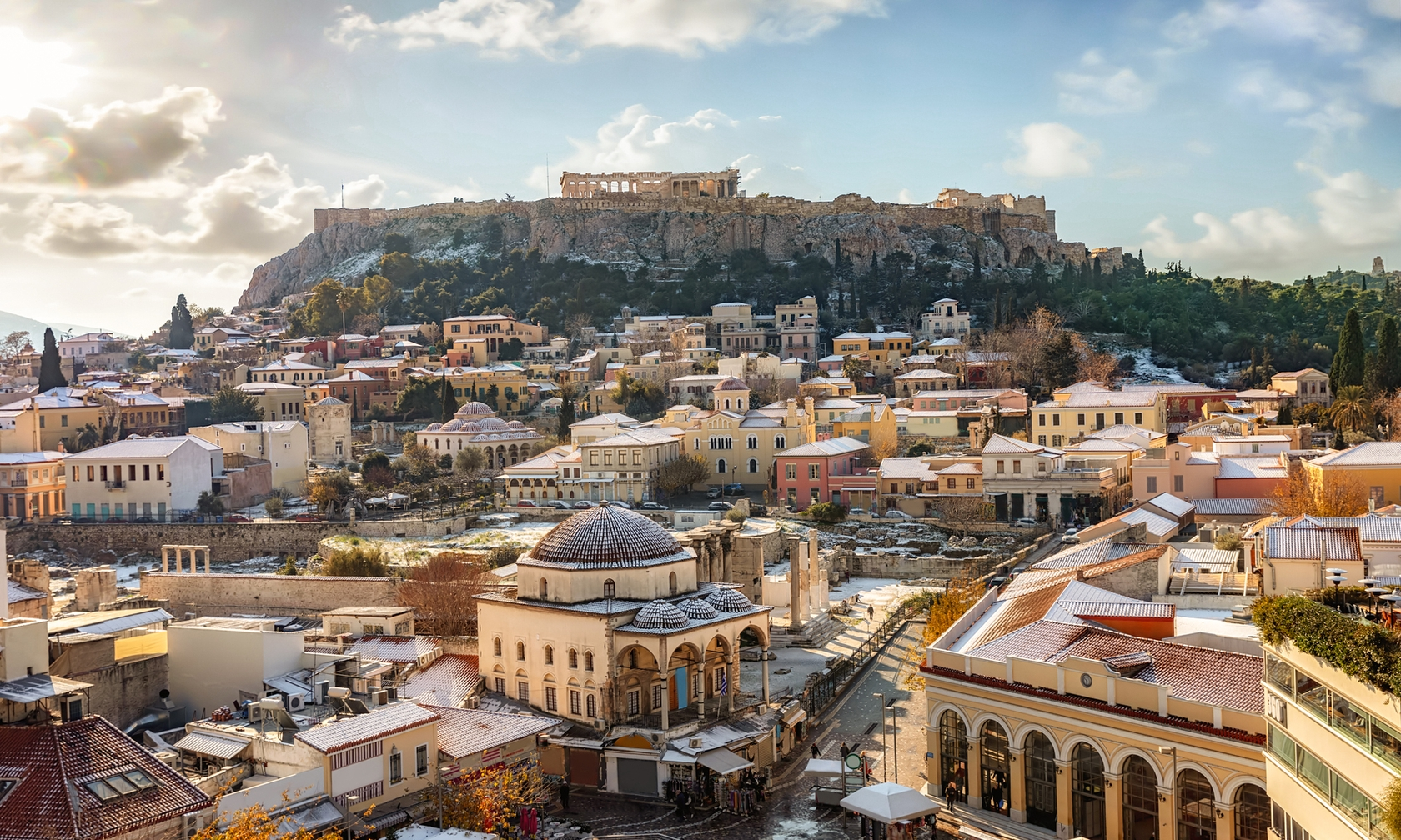 Holiday rental apartments in Athens