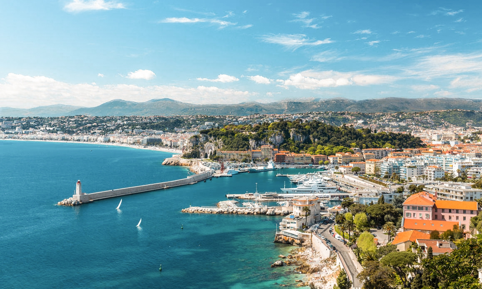 Villa and house rentals in Nice
