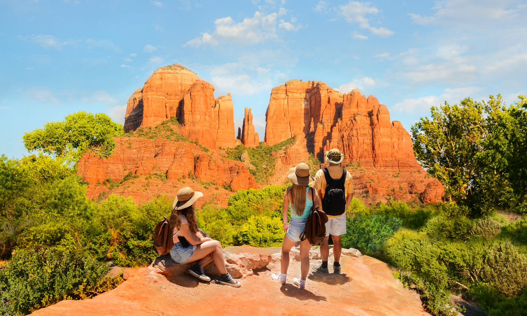 Cabin and house rentals in Sedona