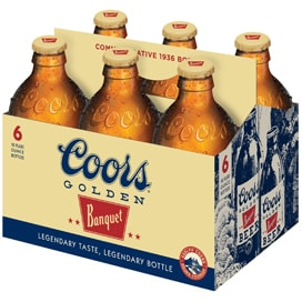 Coors Golden 6 Pack