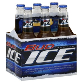 Bud Ice 6 Pack