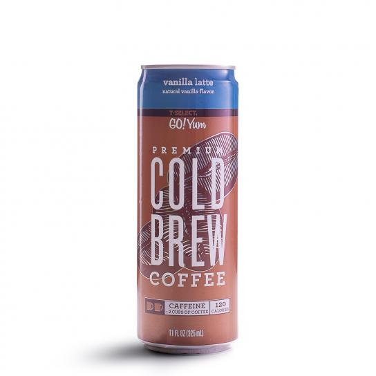 Cold Brew Coffee Vanilla Latte