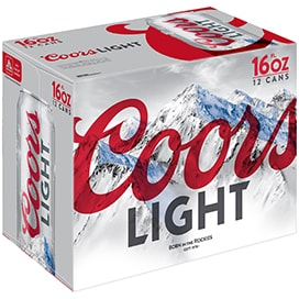 Coors Light 12 Pack