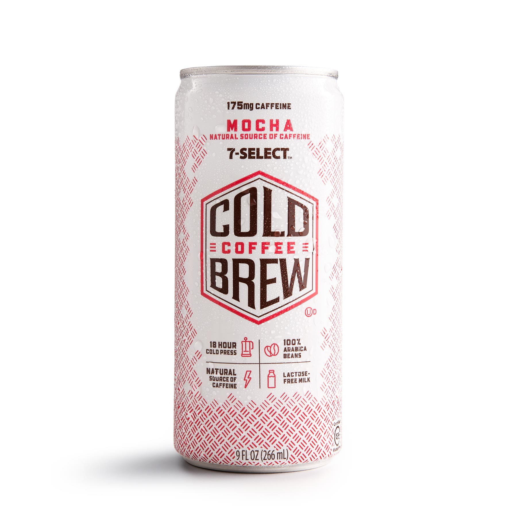 A 7-Select by 7-Eleven Cold Brew Coffee, mocha flavor.