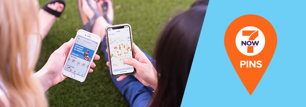 Delivery through the 7NOW® app is now a Walk in the Park... literally