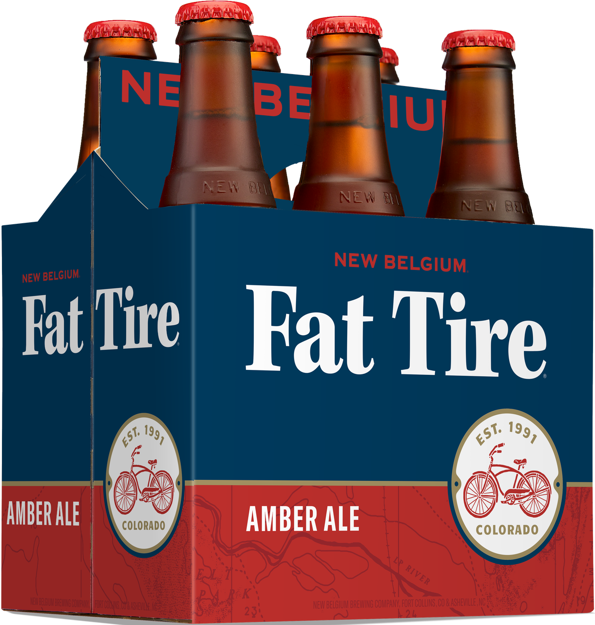 New Belgium Fat Tire 6 Pack