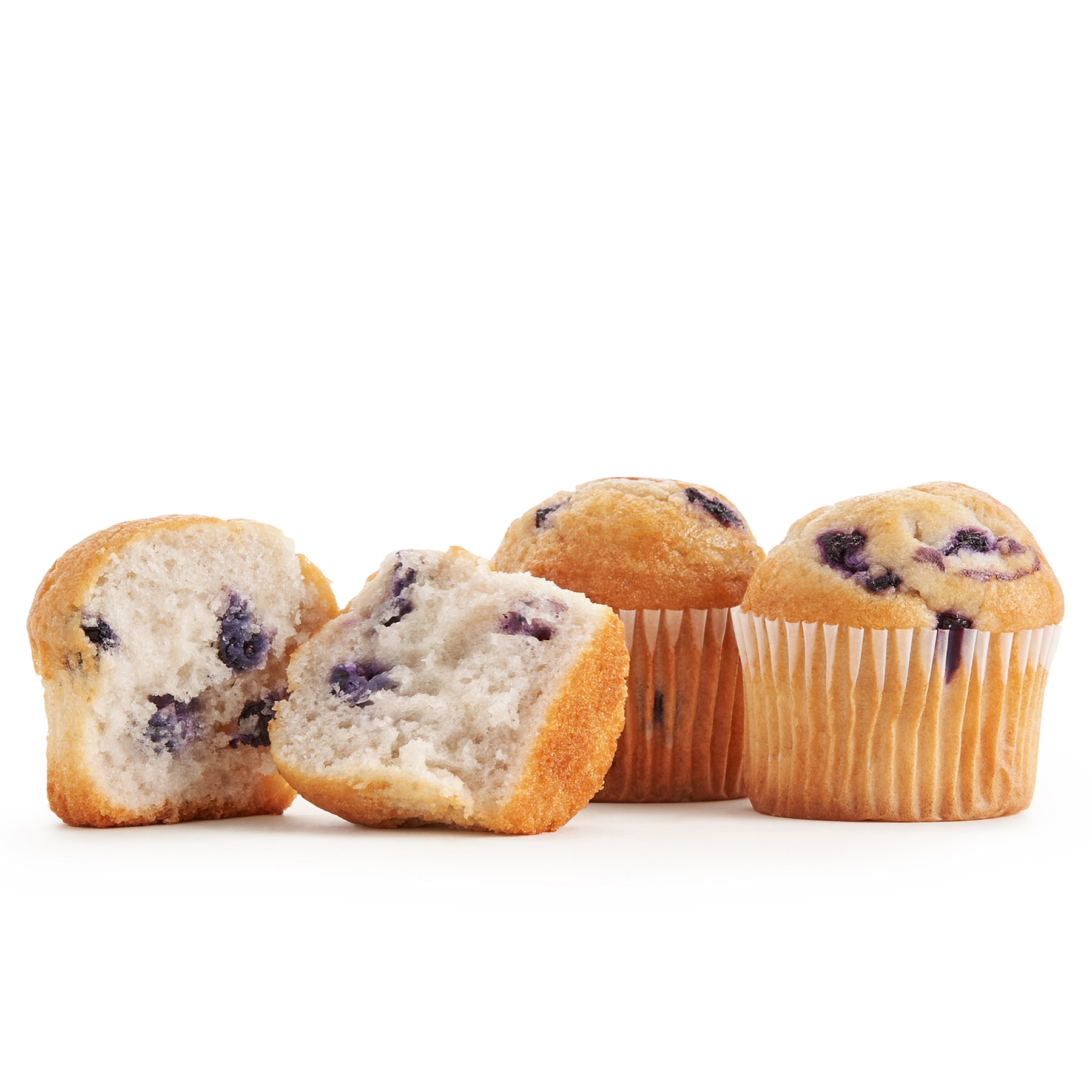 Packaged blueberry mini muffins