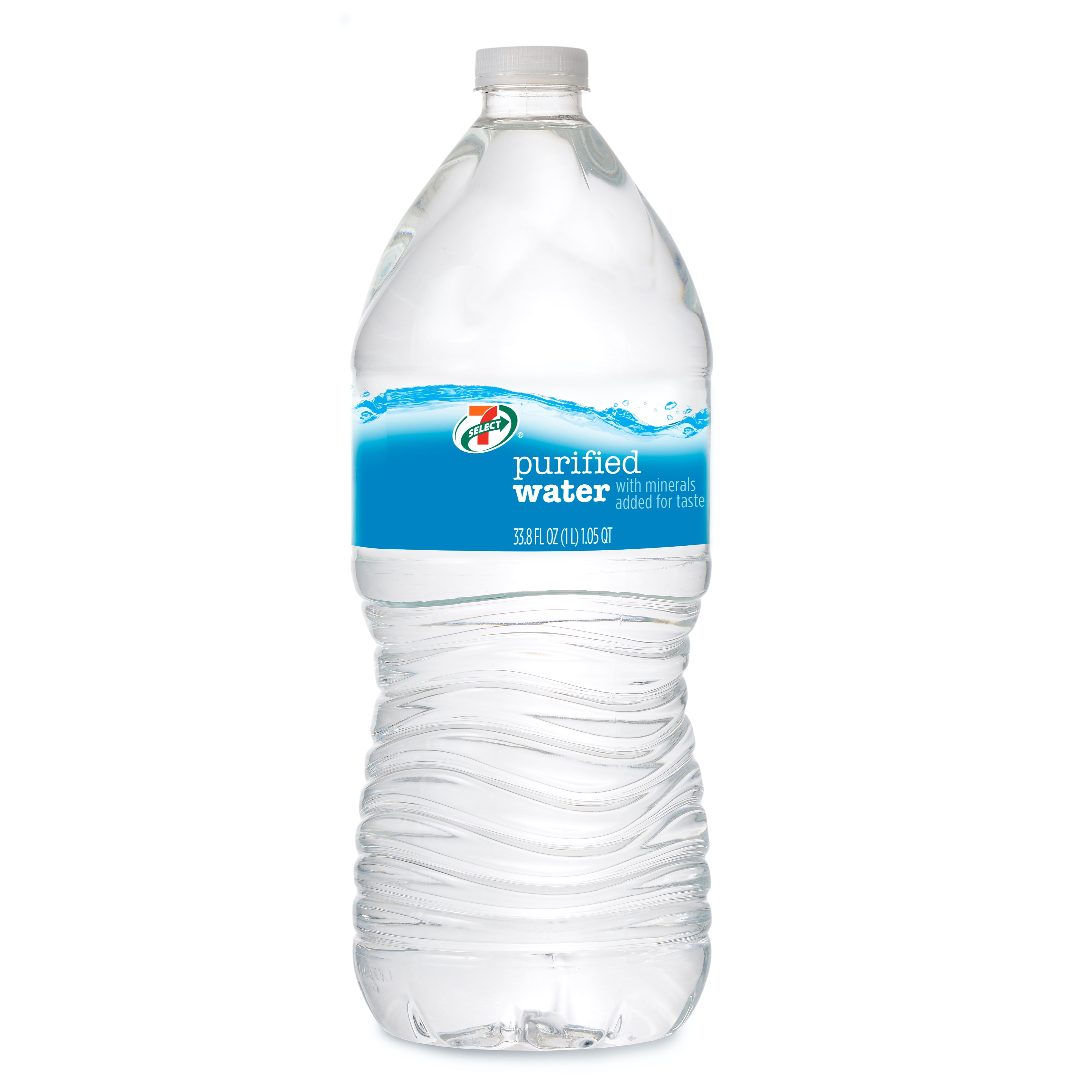 7-Eleven 7-Select purified bottled water.