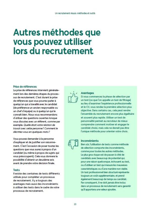 Couverture du livre blanc recrutement