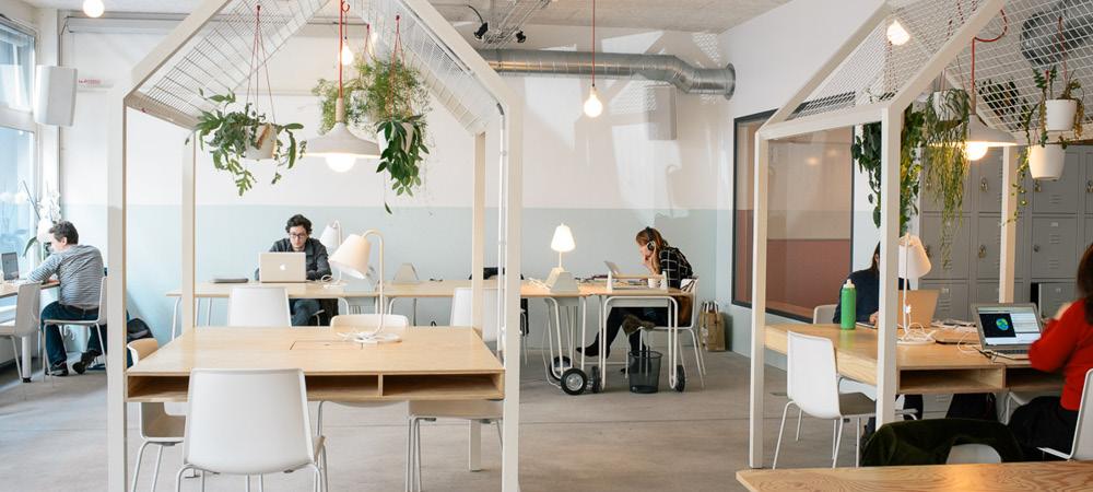 Co working à Genève, chez Voisins