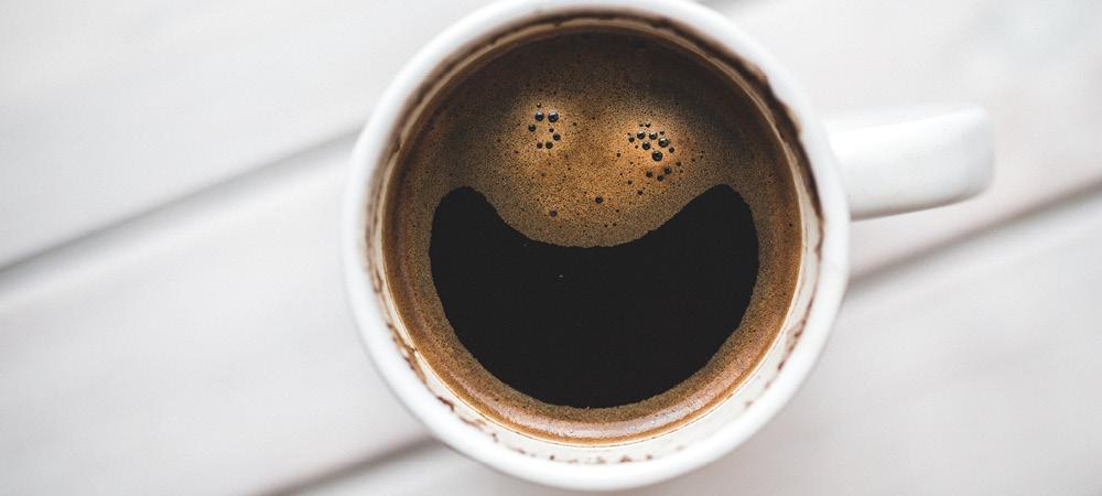Caffeine up!