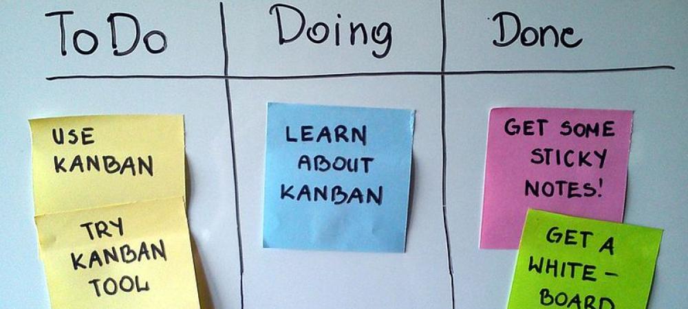 Kanban post its