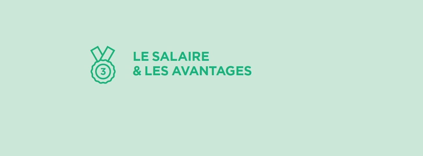 Le salaire, troisième critère choisi par les jeunes professionnels