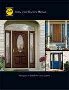 fiberglass steel entry door manual