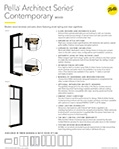 thumbnail for architect series contemporary spec sheet