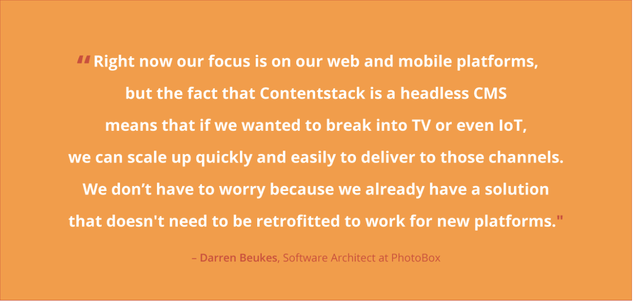 Omnichannel Quote from Photobox