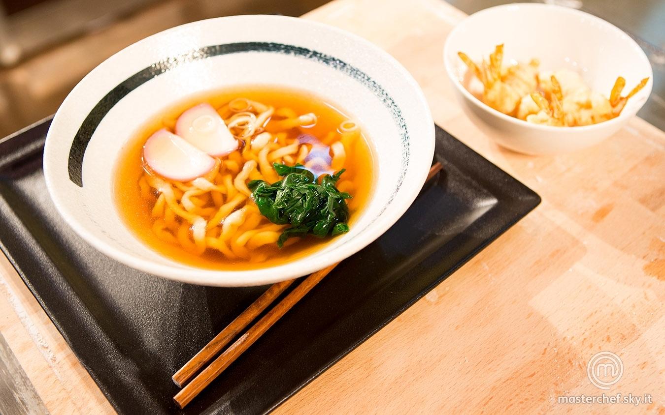 Tempura udon noodles soup di Michele G.