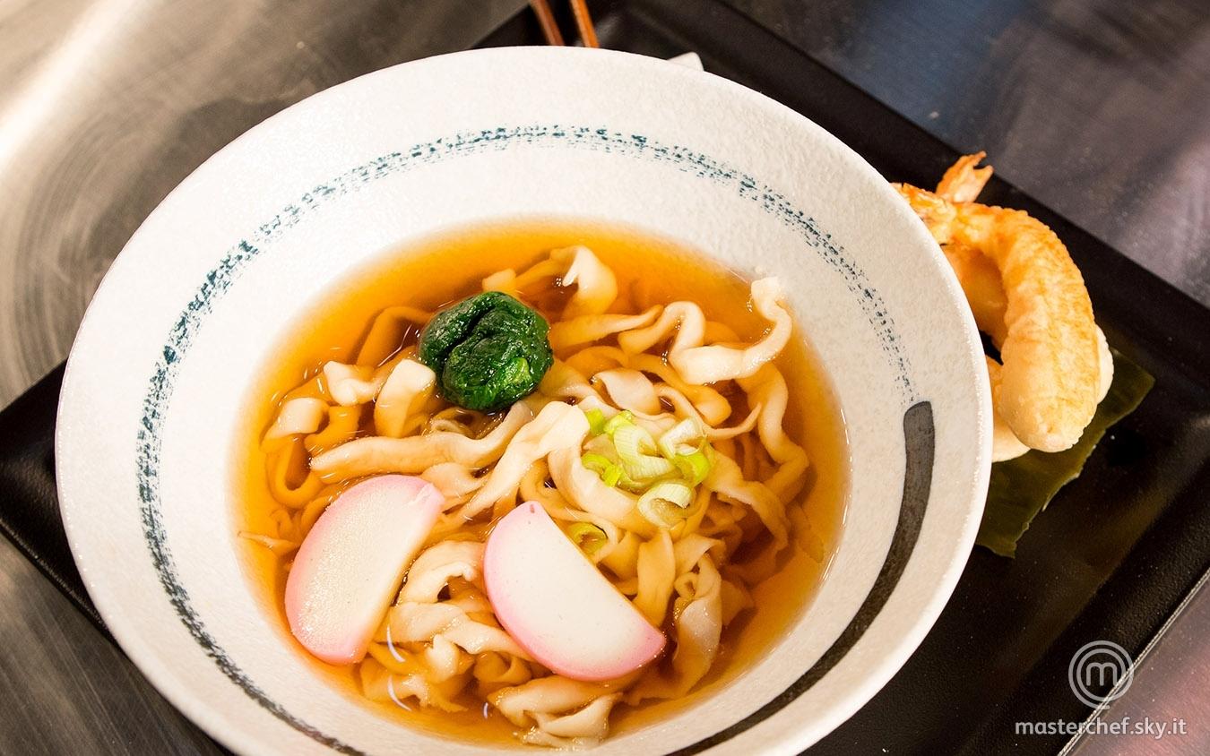 Tempura udon noodle soup di Mariangela