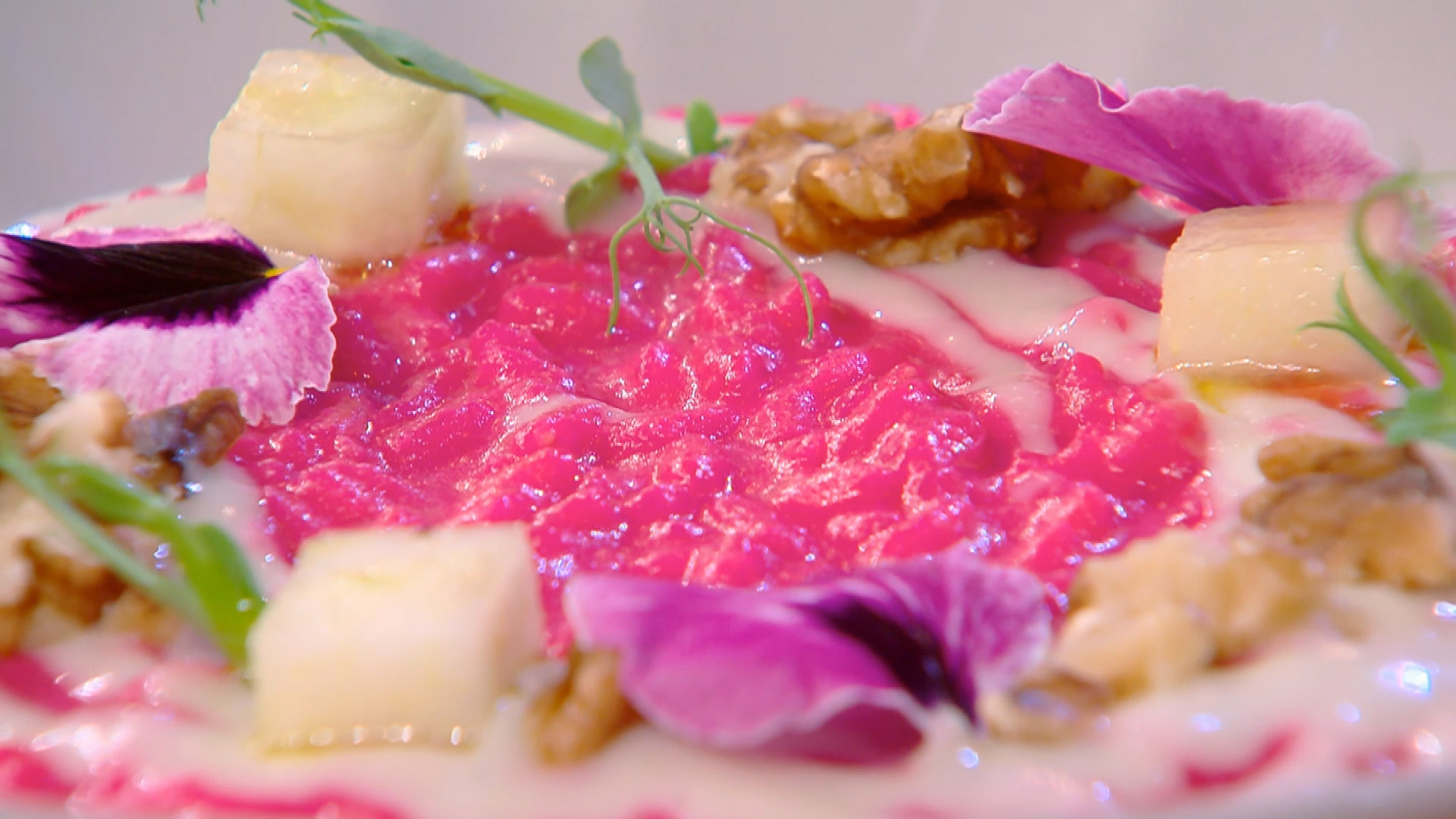 Risotto alla barbabietola di Chef Antonio Lorenzon