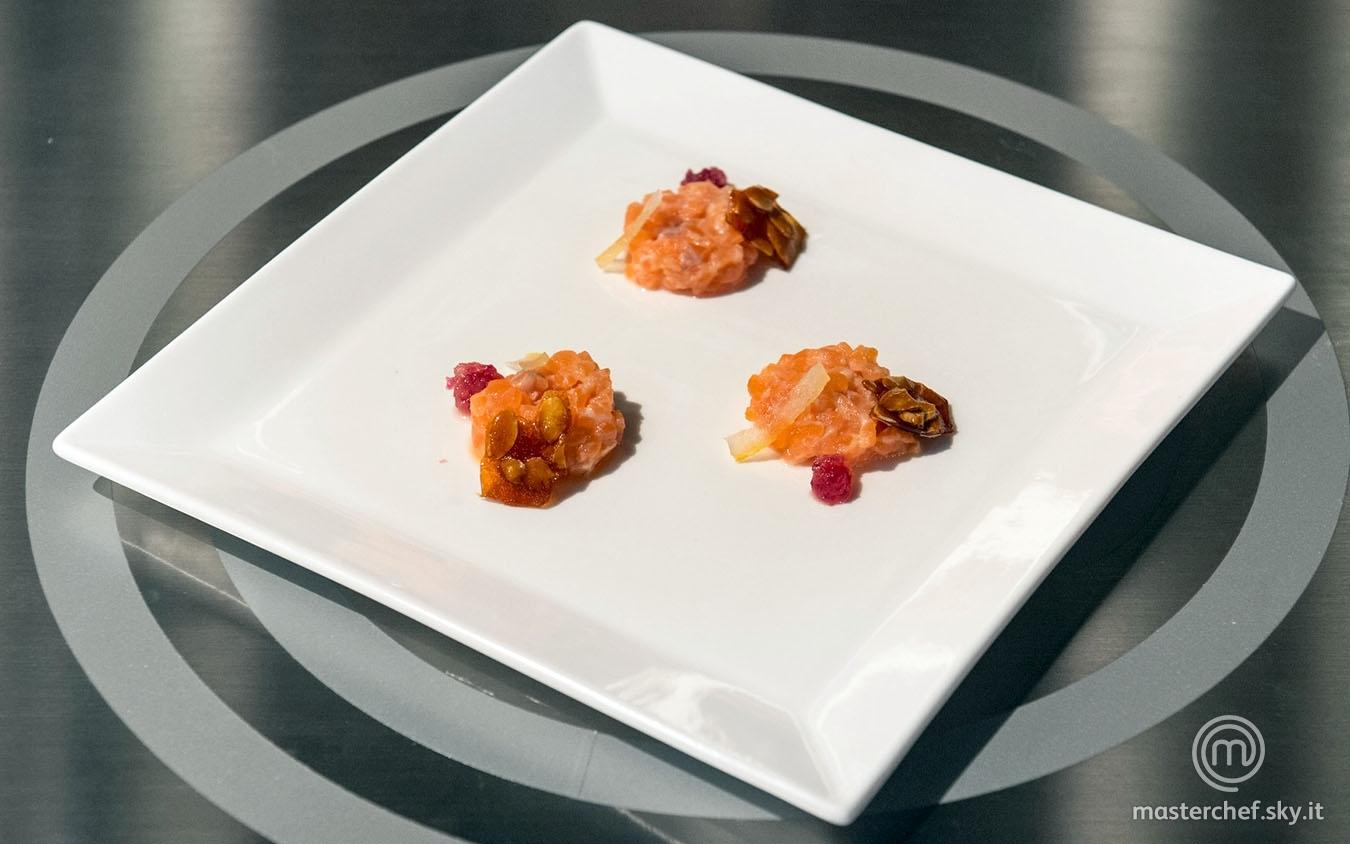 Il salmone a cui piaceva l'agro, il dolce e il croccante