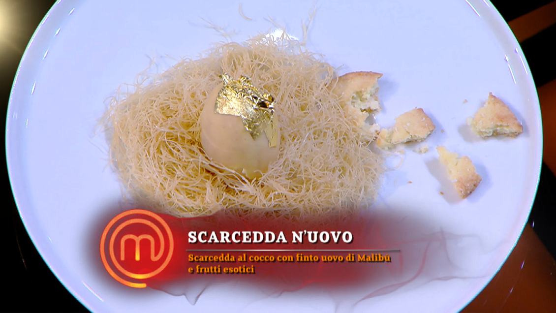 Menù finale di MasterChef 10: Il dolce del finalista Aquila