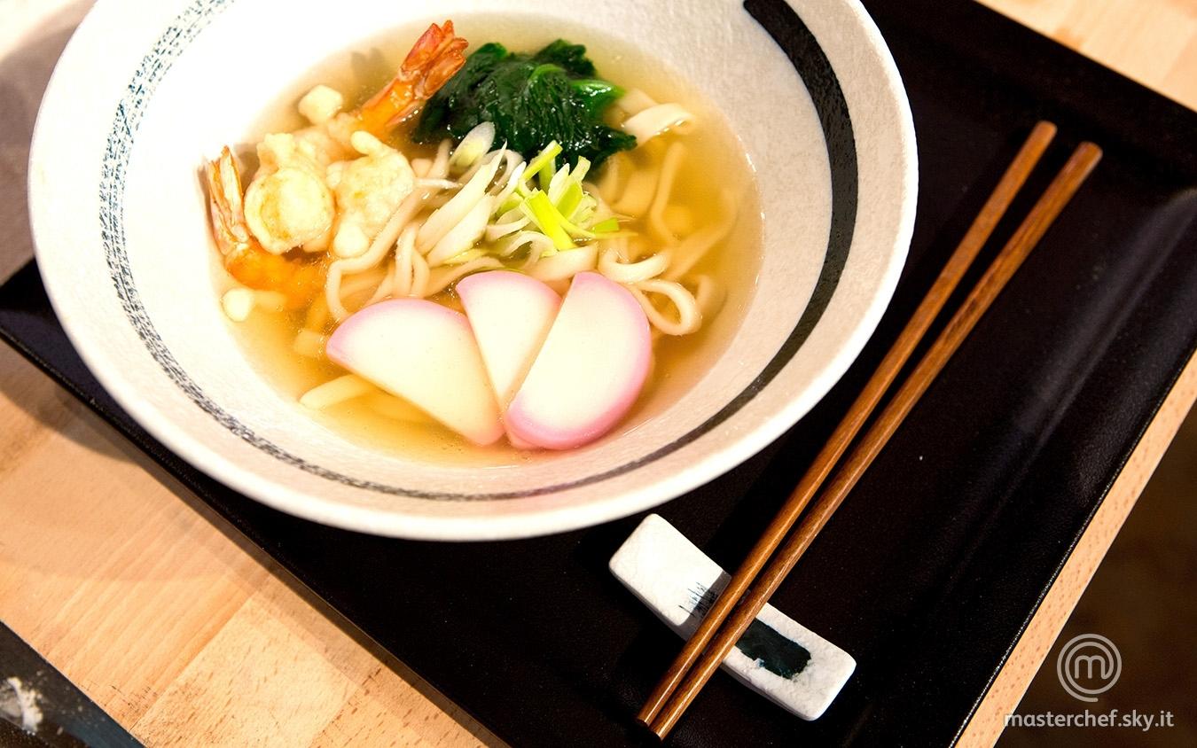 Tempura udon noodle soup di Daniele
