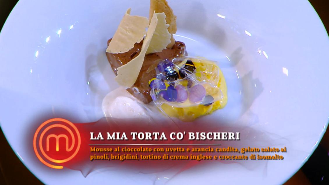 Menù finale di MasterChef 10: Il dolce del finalista Antonio