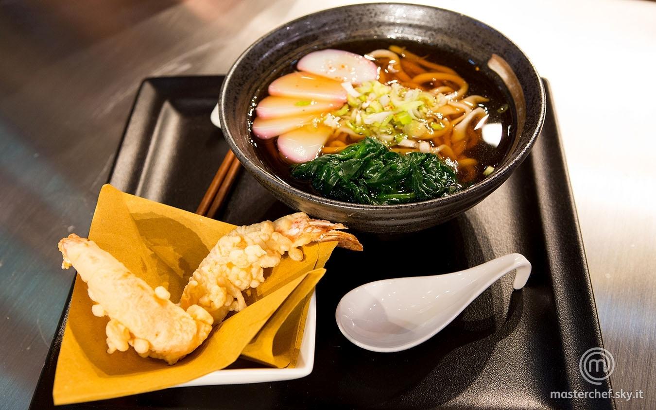 Tempura udon noodles soup di Gloria