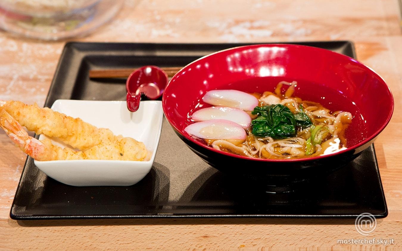 Tempura udon noodle soup di Valerio