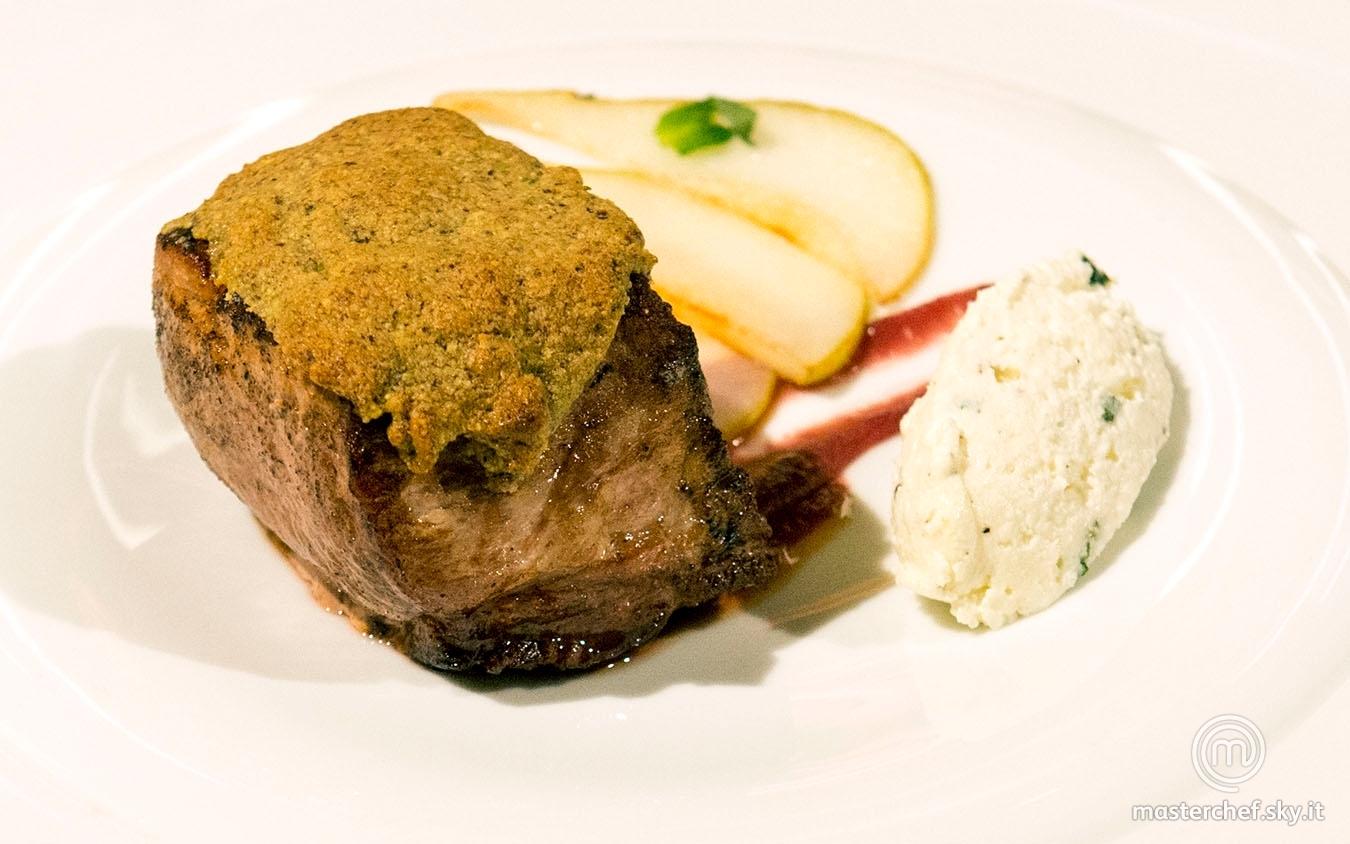 Filetto di maiale tra dolcezza e acidità