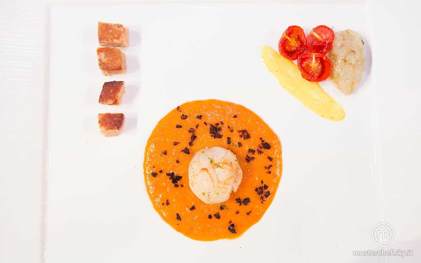 Variazioni di capesante e foie gras