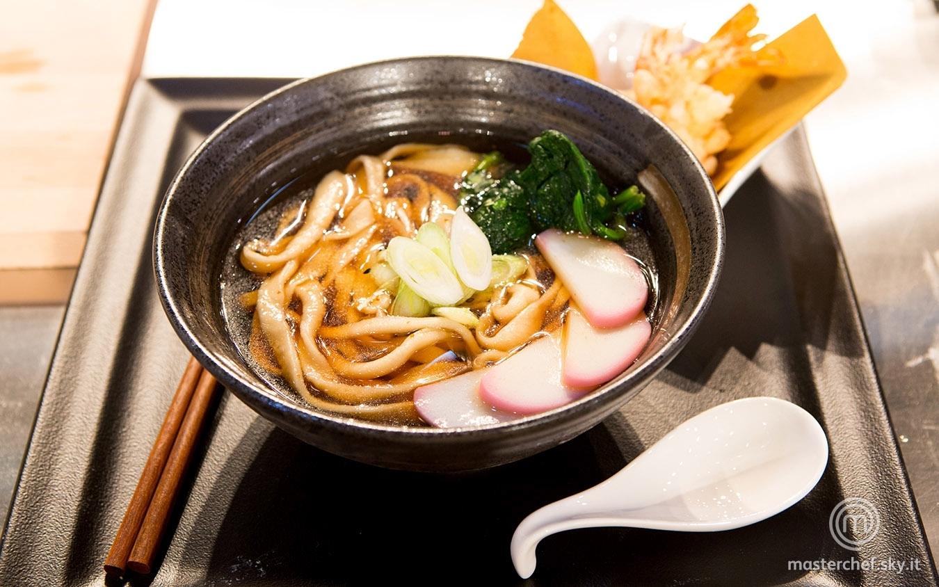 Tempura udon noodle soup di Cristina
