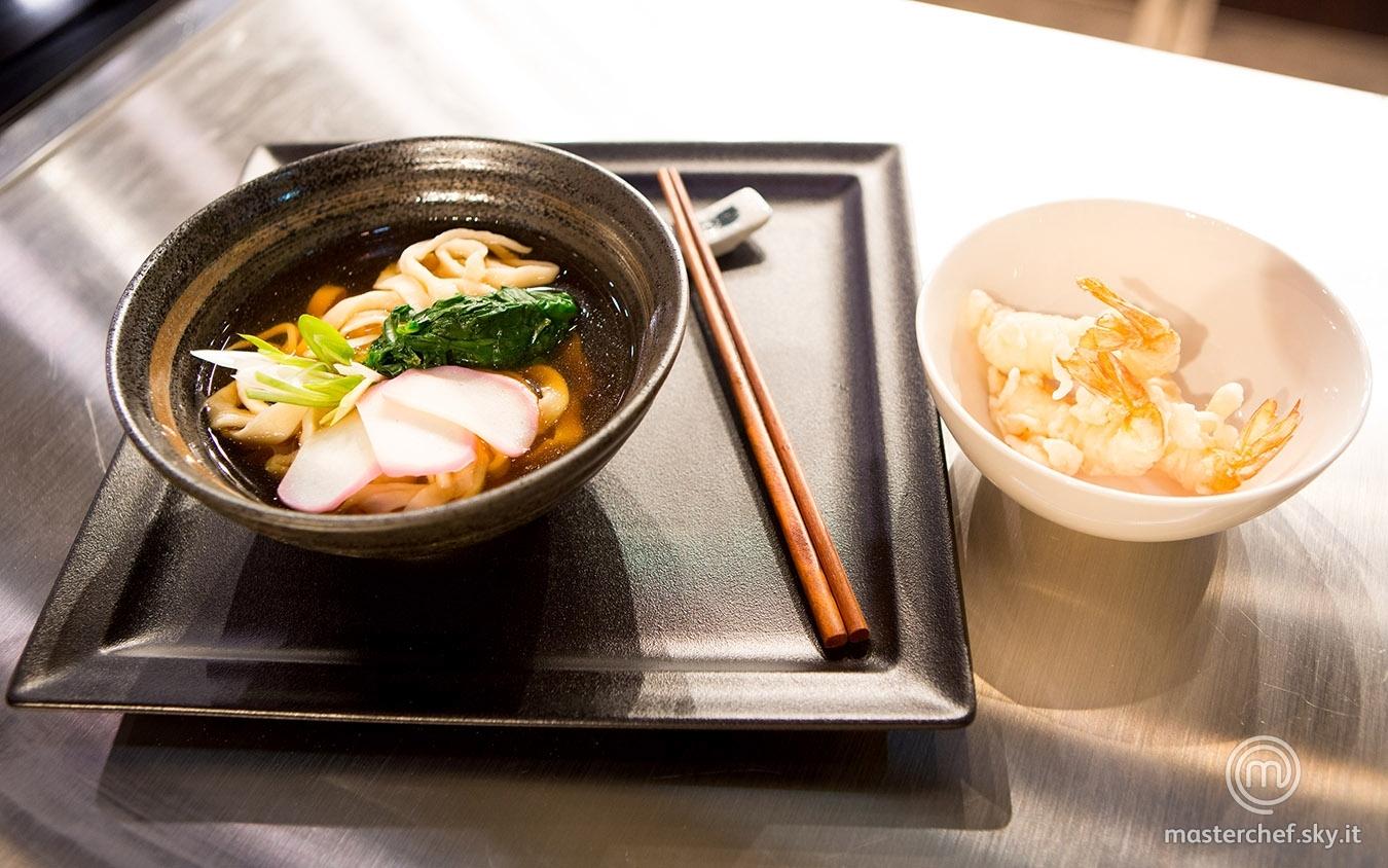 Tempura udon noodle soup di Giulia