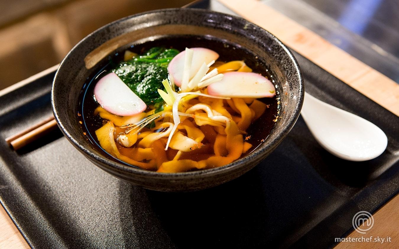 Tempura udon noodle soup di Gabriele