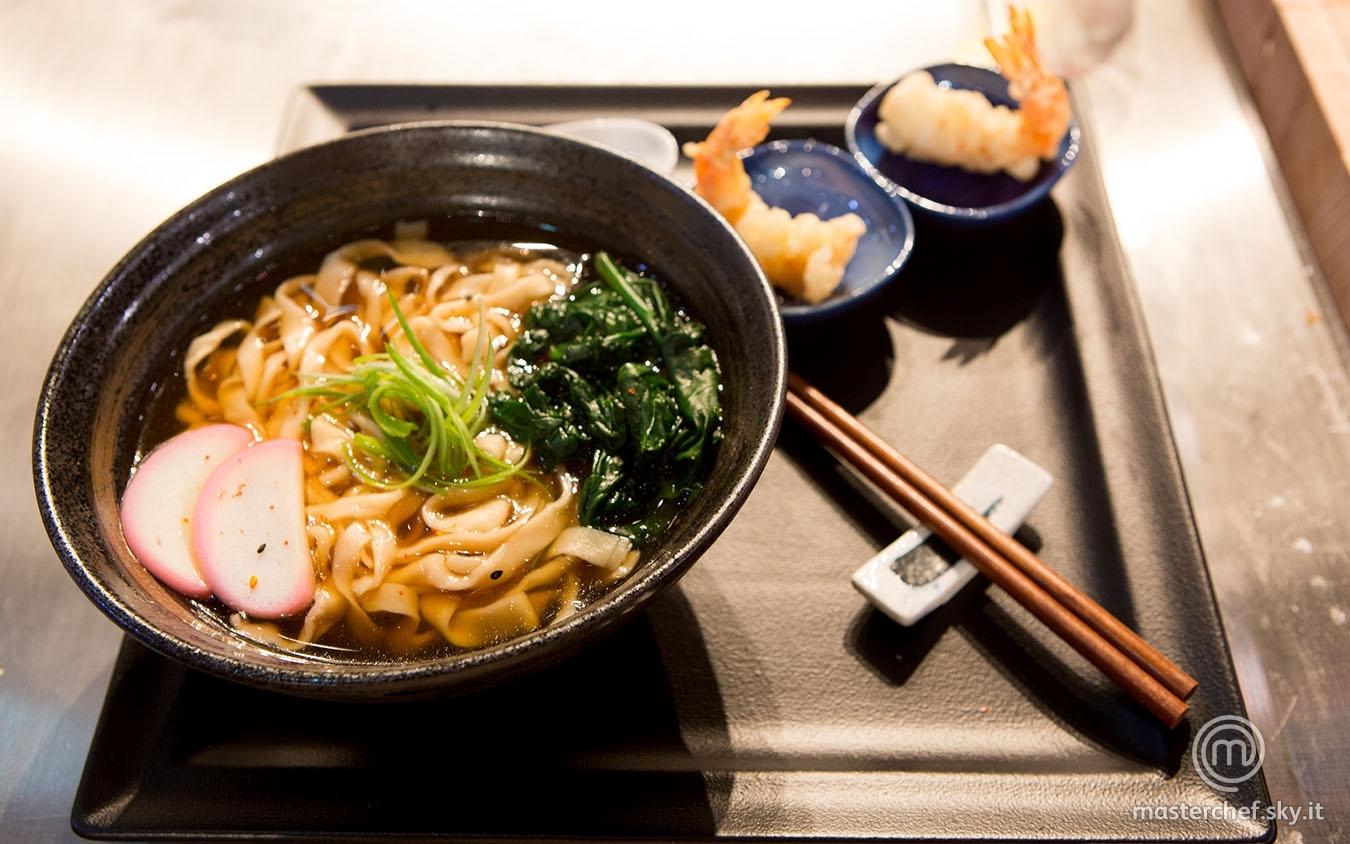 Tempura udon noodle soup di Margherita