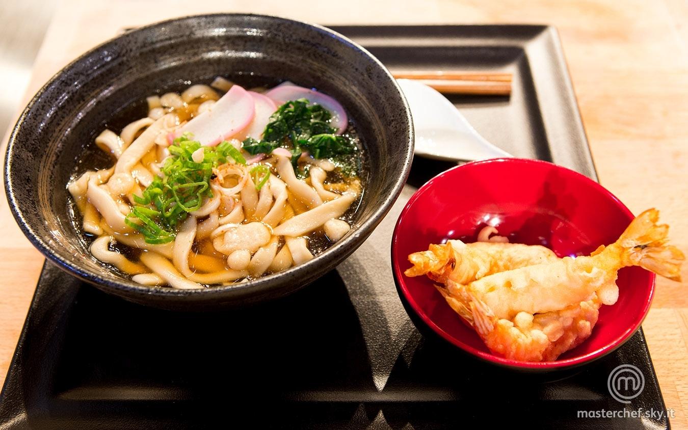 Tempura udon noodle soup di Roberto