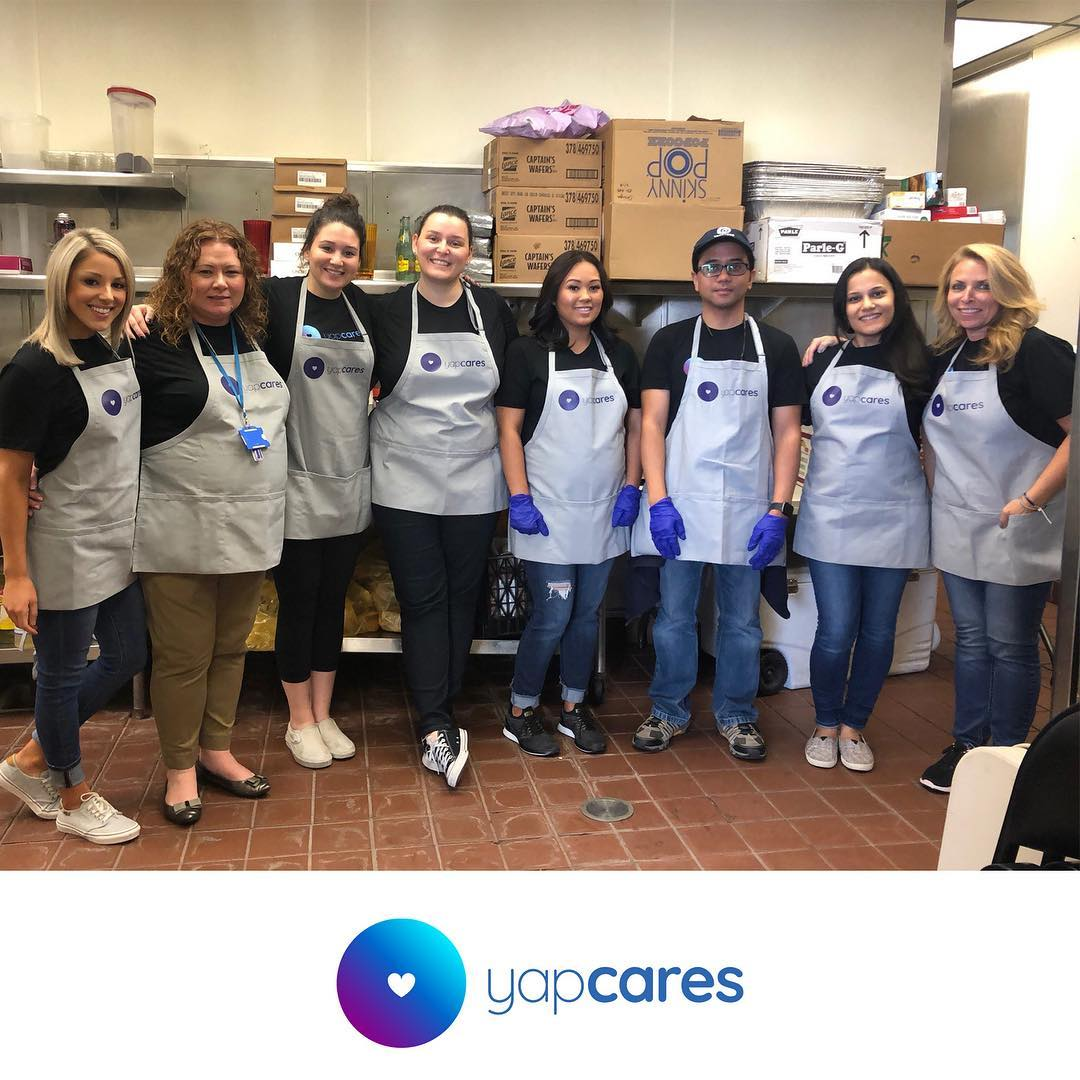 Our HR team cooked up some fun and served up some smiles at the @trinitycenterwc as part of a #yapcares volunteer event. #yapstone #givingback #makingadifference