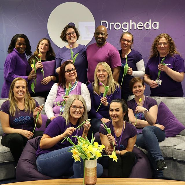 Our Yapsters put on purple for International Womens Day. At Yapstone, we believe that balance drives a better business world.