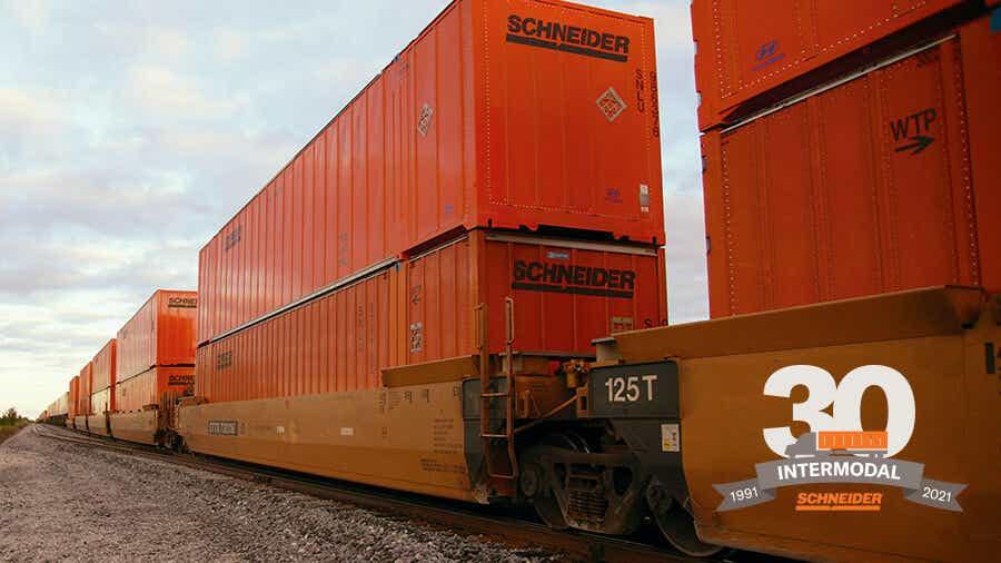Schneider intermodal container