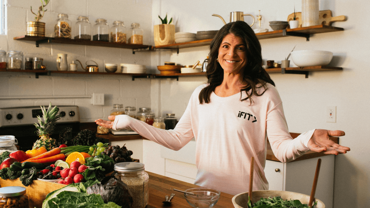 iFIT Mind cooking class and meal prep