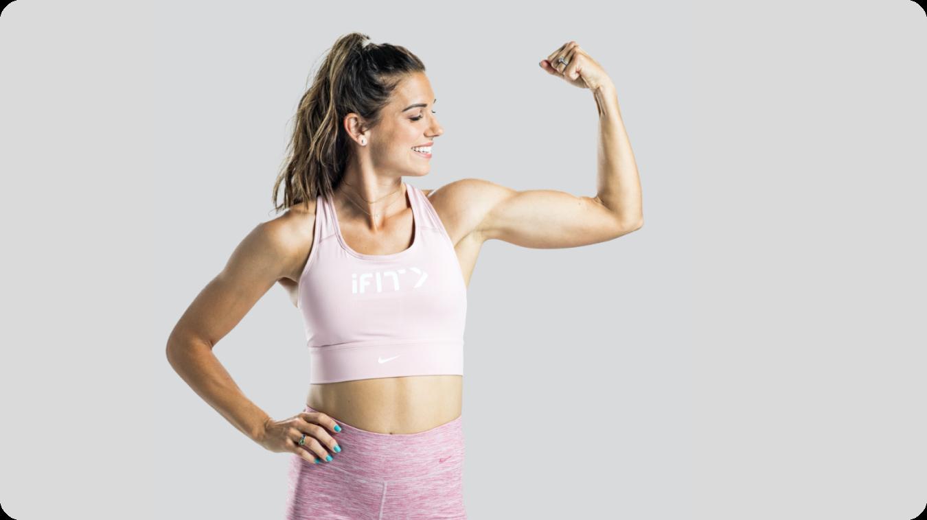 iFIT Train Like A Pro: Alex Morgan - Strength workout series
