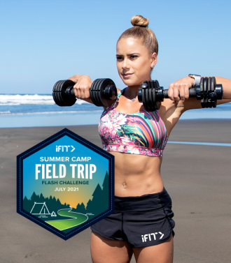 iFIT Field Trip Flash Challenge strength workouts