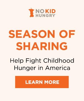 No Kid Hungry Season of Sharing ICB